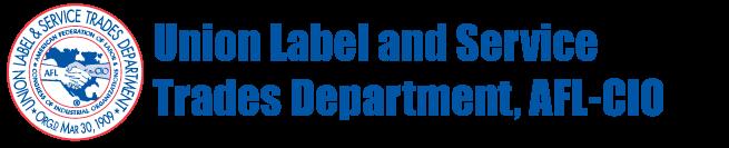 Union Label Banner