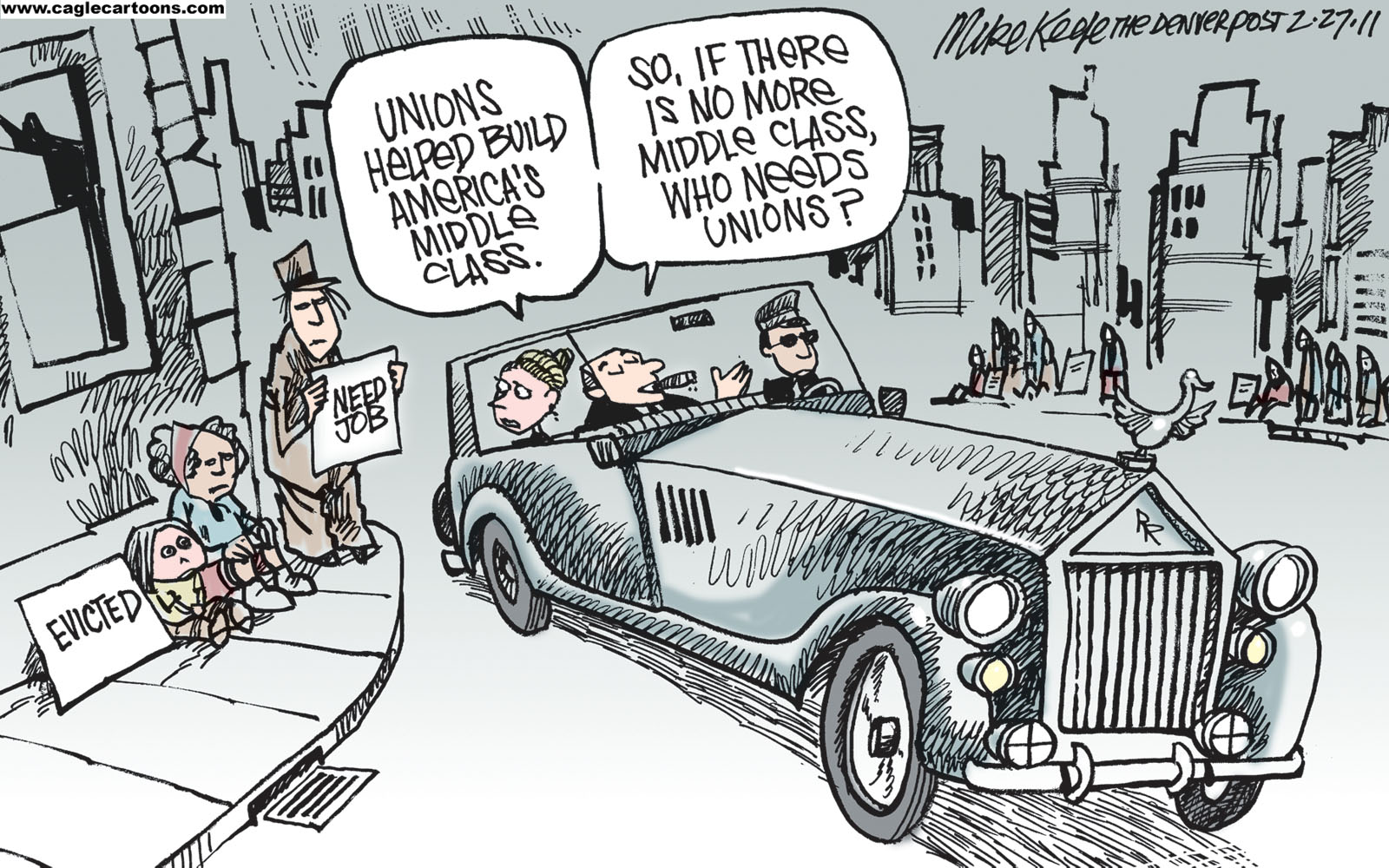 No More Middle Class