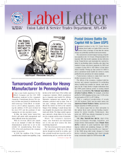 Label Letter–May-June 2012