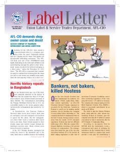 Label Letter--November-December 2012