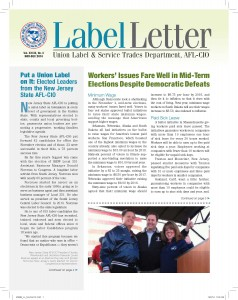 Label Letter–January-February 2013