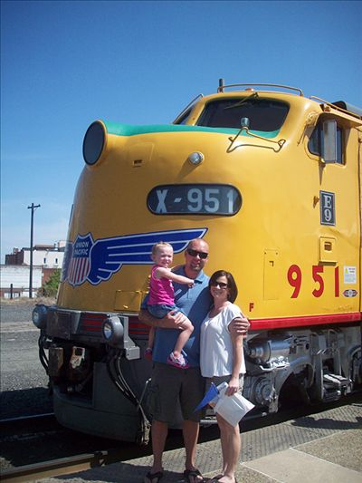 Scott Larsen, Conductor/Engineer Union Pacific Railroad