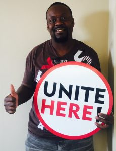 Purnell Packer, Hotel Worker — UNITE HERE Local 7 Member