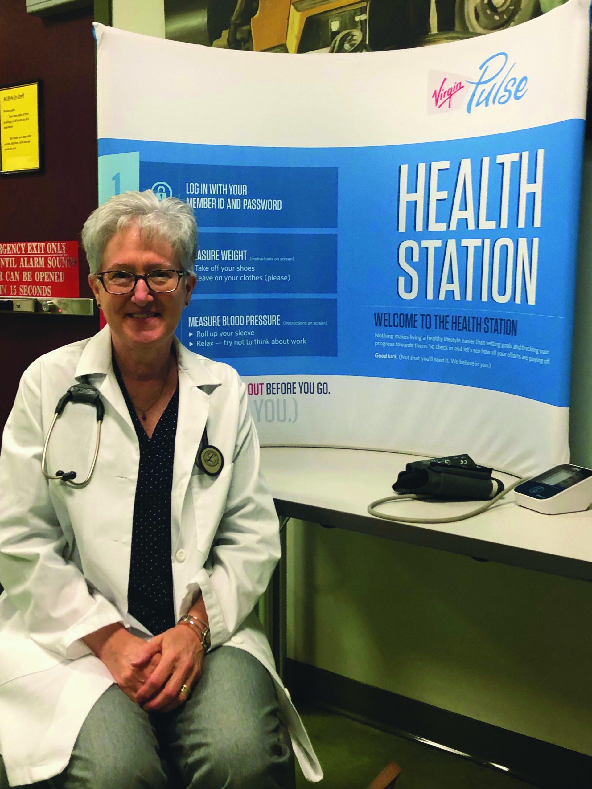 Nancy Austin, School Community Health Nurse and Shop Steward,  UFCW Local 1994 MCGEO