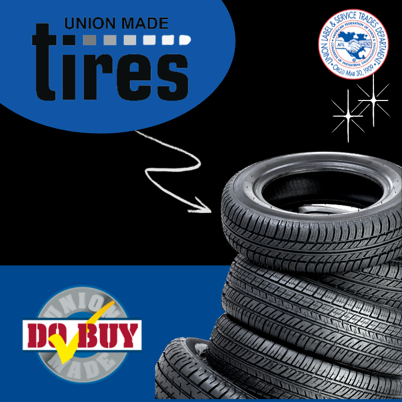 The U.S. Department of Transportation (DOT) has made it very easy to find union-made tires by requiring that each tire carry a code that shows the company and the location of the plant that manufactured the tire. DOT requires that each tire sold in the United States carry a code that looks something like this: DOT BE XX XXX XXX. The two letters or numbers that follow the DOT identify a particular factory as listed below. Download a PDF version here: https://unionlabel.org/2020/12/07/do-buy-november-december-2020-union-made-tires/