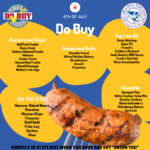 Do Buy – 4th of July Foods & Beverages