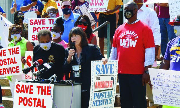 Postal Workers Day of Action Events Held Across the Country to Demand USPS Funding, Repeal of DeJoy Policies