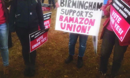 America Watches as an Historic Vote to Unionize an Amazon Warehouse in the Deep South Brings Labor Issues to the Forefront