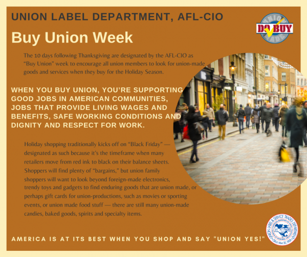 Buy Union Week Picture